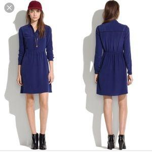 Madewell silk cinema dress
